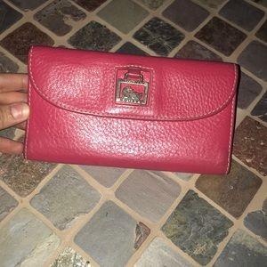 Dooney and Bourke pink wallet